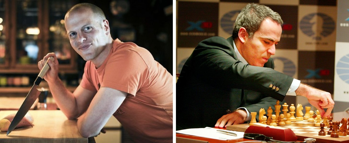 Tim Ferriss, Garry Kasparov, and the Secret Weapon of a World Champion Chess Player