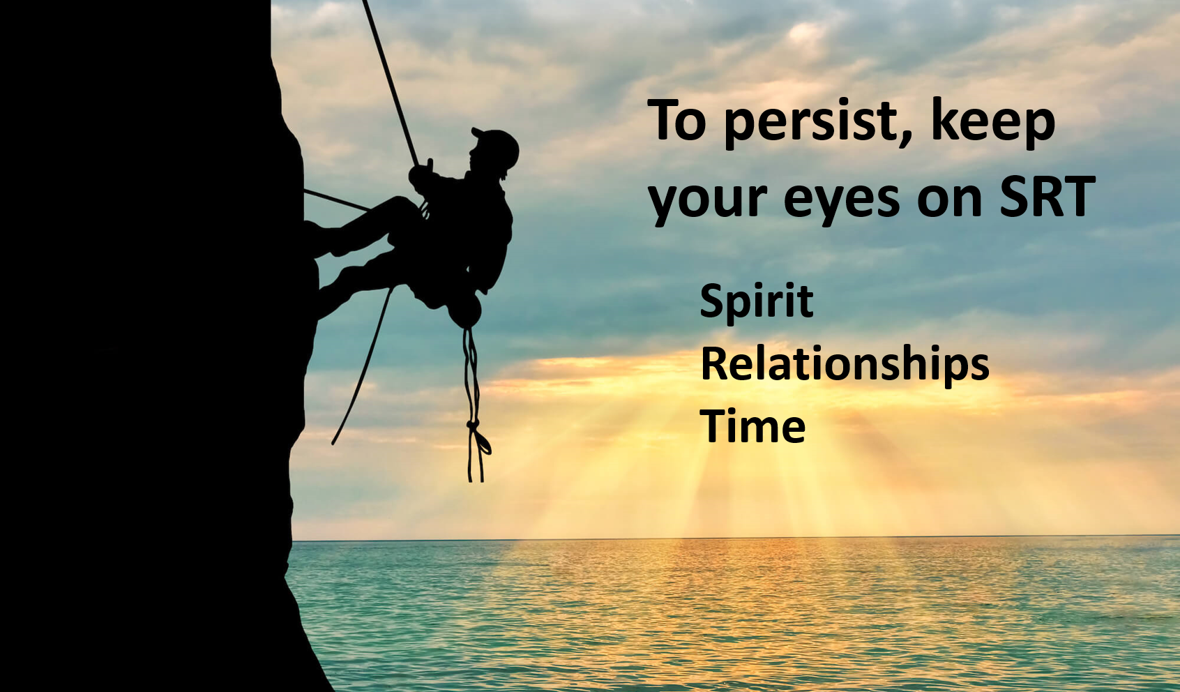 To Persist, Keep Your Eyes on SRT